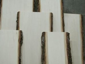 Bark Edge boards for crafters