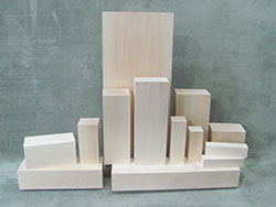 Basswood Carving Blocks 3-4 Inch